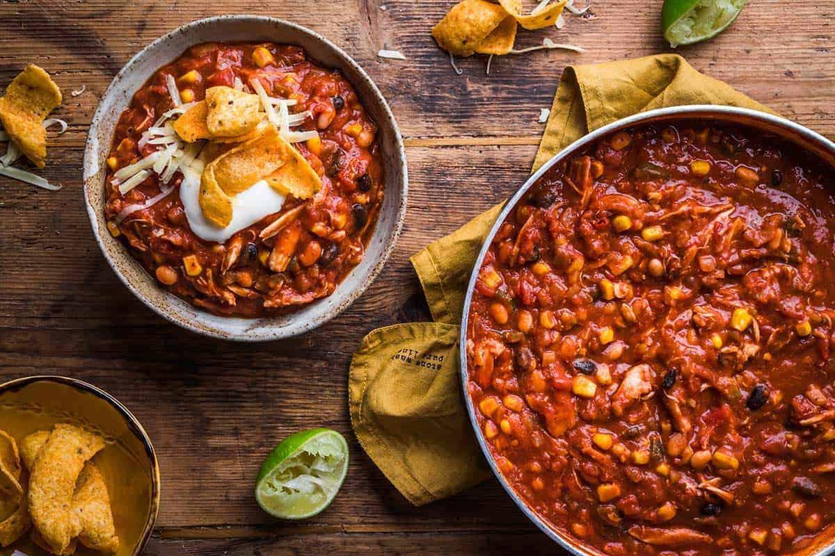 Best Chicken Chili Recipe Mexican Chili Sunday Supper Movement