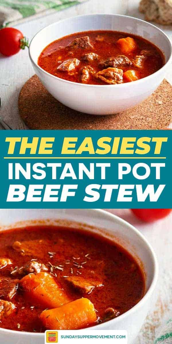 Save our Easy Beef Stew on Pinterest for later!