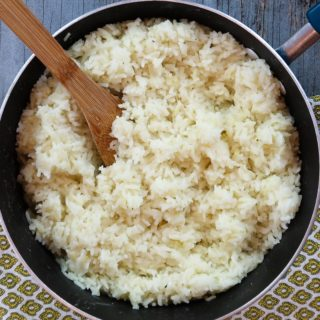 How to cook perfect rice: perfect rice in a pan
