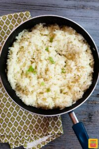 Perfect fluffy rice in a pan - how to cook perfect rice