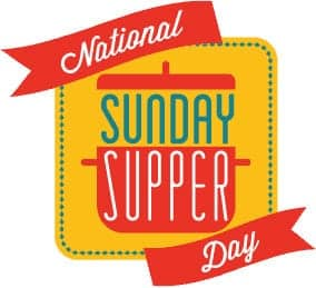 National Sunday Supper day logo