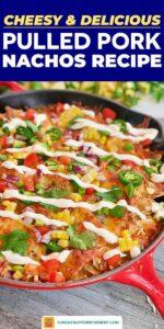 Pulled pork nachos pin image