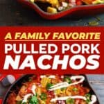 Pulled pork nachos pin image