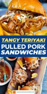 Save our pulled pork sandwiches on Pinterest for later!