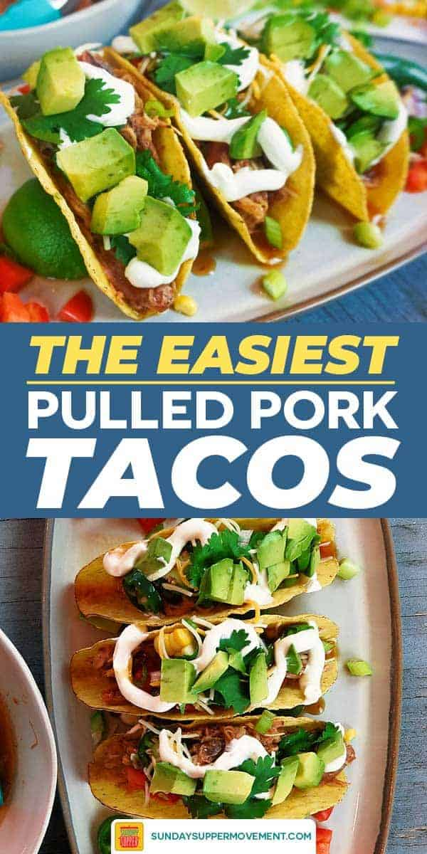 Save Pulled Pork Tacos on Pinterest!