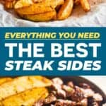 save the best steak side dishes on Pinterest!
