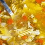 chick-fil-a chicken noodle pinterest image