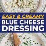 Save How to Make Blue Cheese Dressing on Pinterest