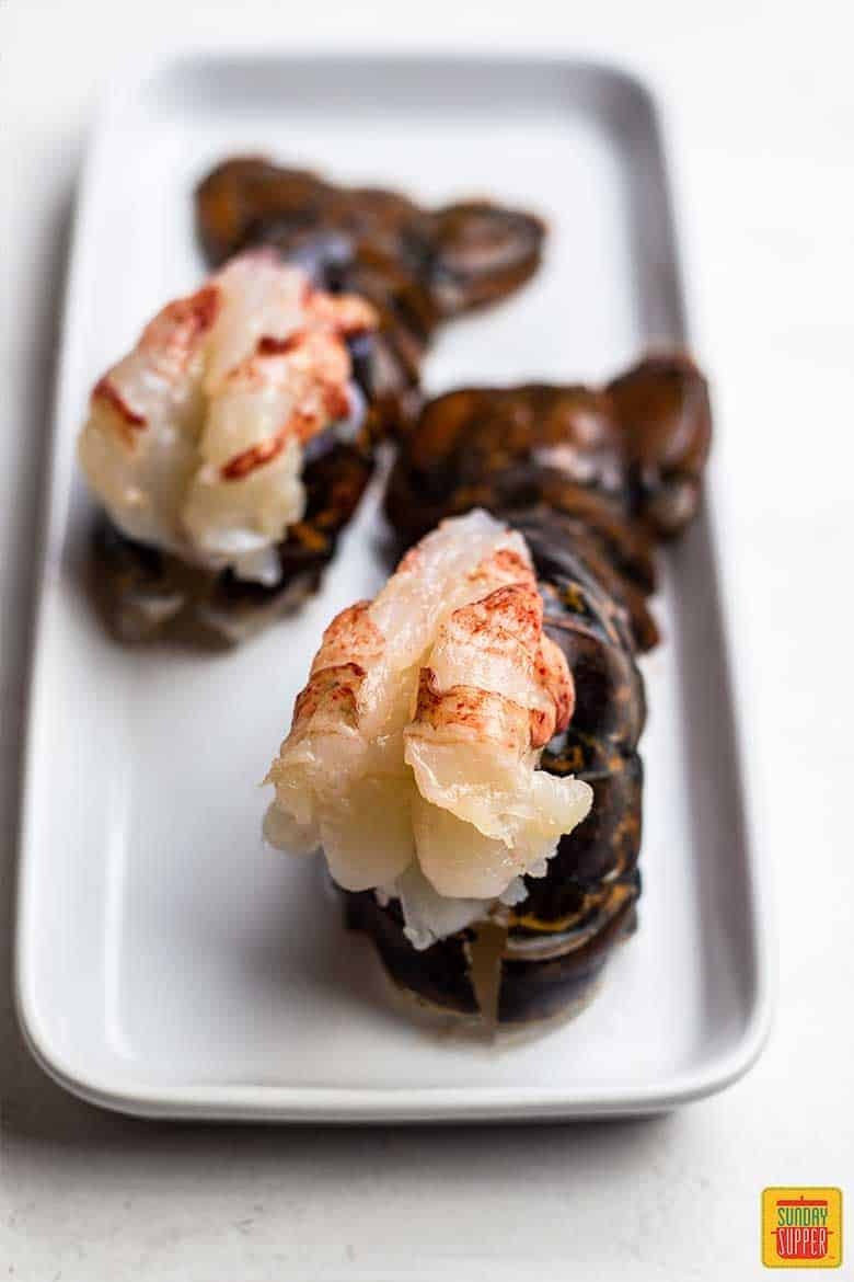 Butterflied lobster tails for fried lobster tails recipe