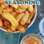 French Fry Seasoning Recipe pin