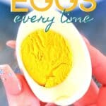 Instant Pot Hard-boiled Eggs pin
