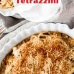 Chicken tetrazzini pin image