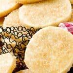 classic sugar cookies pin image
