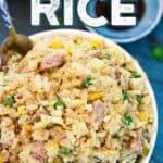 Instant pot white rice pin