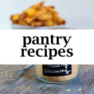 Pantry Recipes