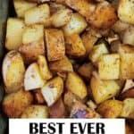 Grilled Potatoes Recipe Pin Image