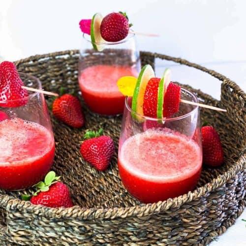 Frozen Strawberry Daiquiri Recipe Sunday Supper Movement