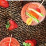 Strawberry Daiquiri Recipe Pin Image