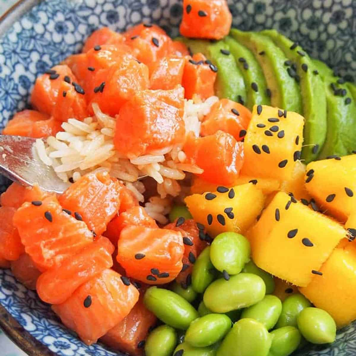 Easy Salmon Poke Bowl Recipe Sunday Supper Movement