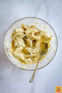 Artichoke mixture in bowl