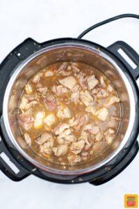 Teriyaki chicken in the Instant Pot